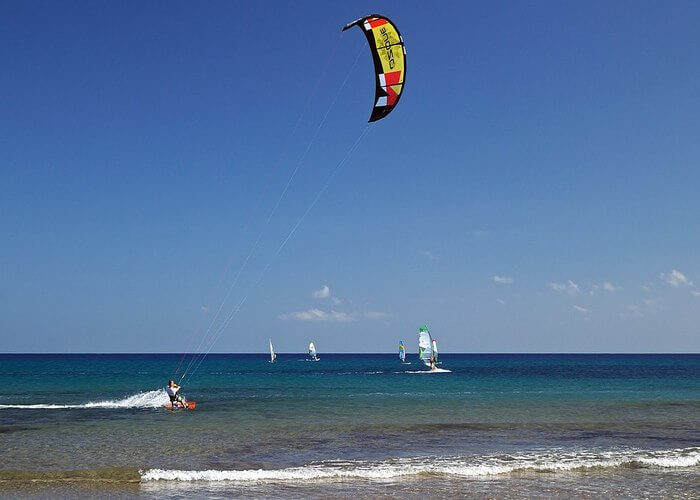 water sports at golden beach