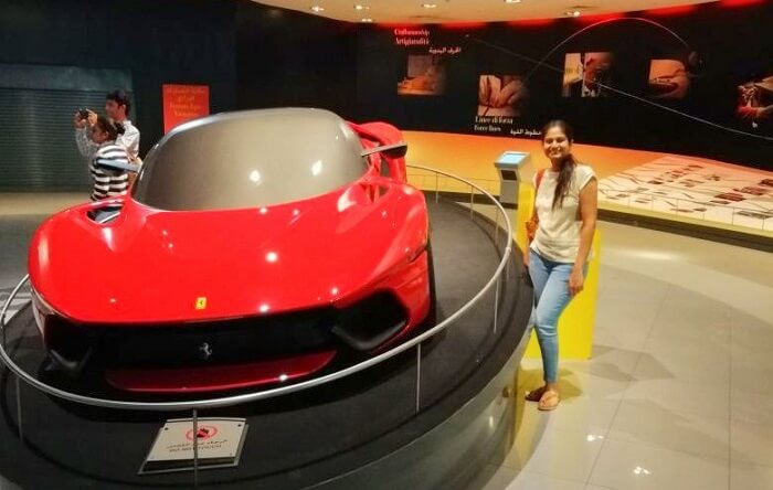 ashish singhal dubai honeymoon trip: ferrari world