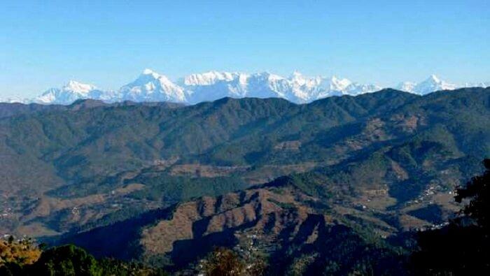 unparalleled views of the Himalayan vistas