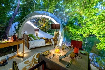mauritius bubble lodge stargazing cover image