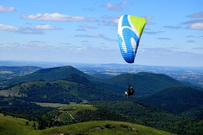 paragliding in nandi