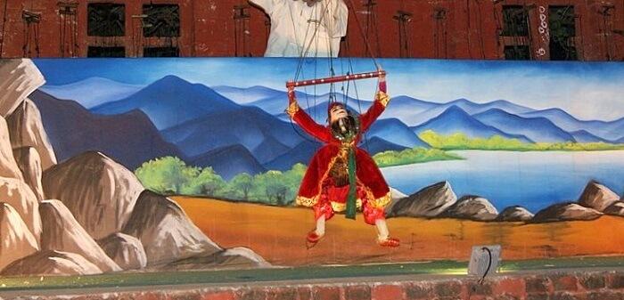 puppet show in myanmar