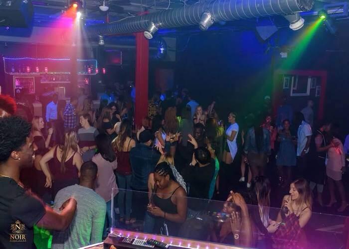 noir nightclub canada