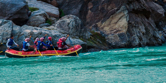 most thrilling river rafting