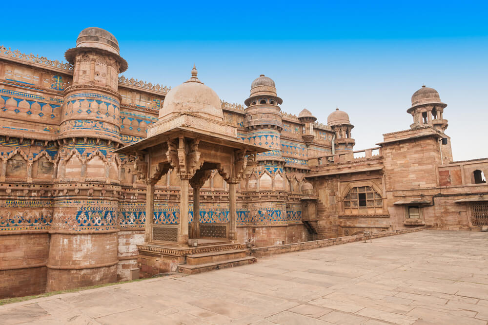 Gwalior Fort from outside