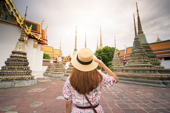 Traveler in Thailand
