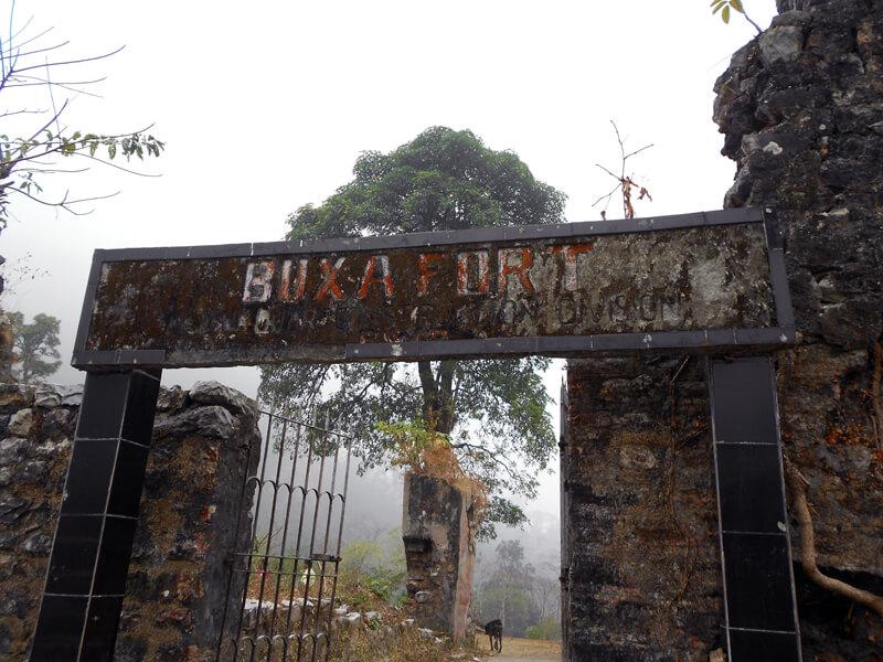 Entrance of Buxa Fort