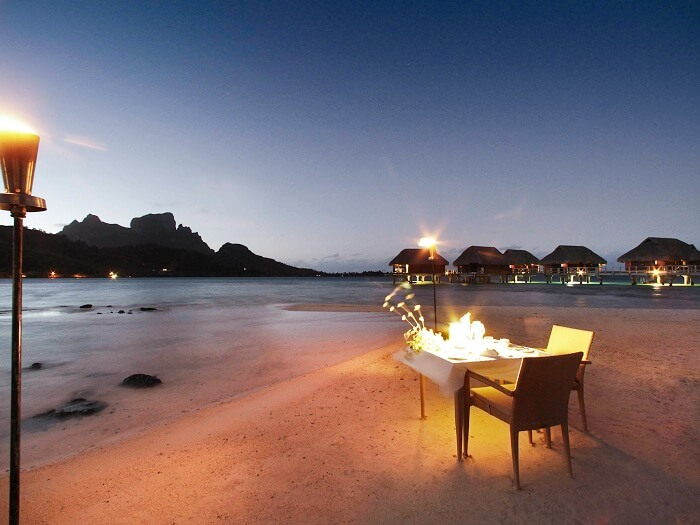 the calmness and privacy in resort
