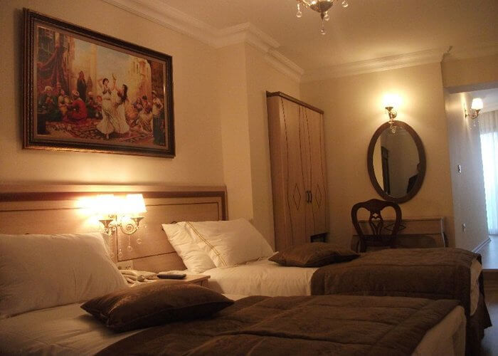 antiquated guestrooms in Sultan Hotel