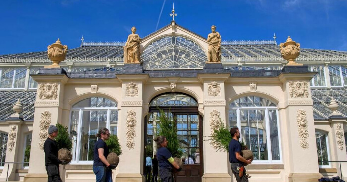 Temperate house in Kew