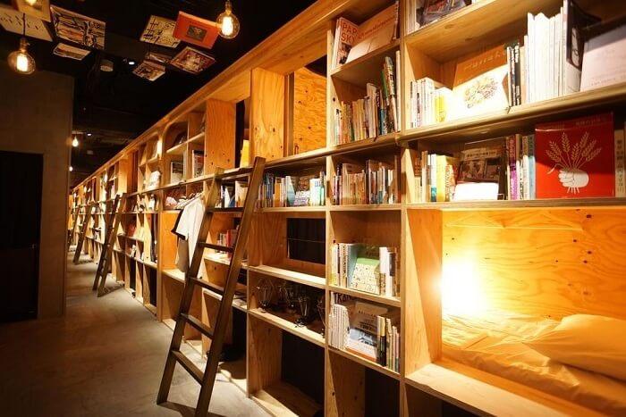 Bed and Book Japan