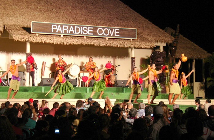 The Paradise Cove Luau