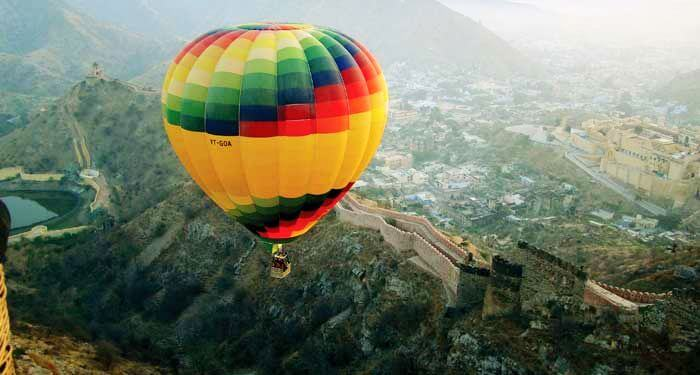 Hot-Air Balloon Ride Jaipur