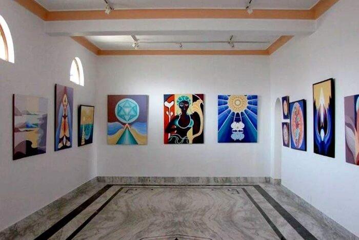 Appreciate art at Naam Art Gallery