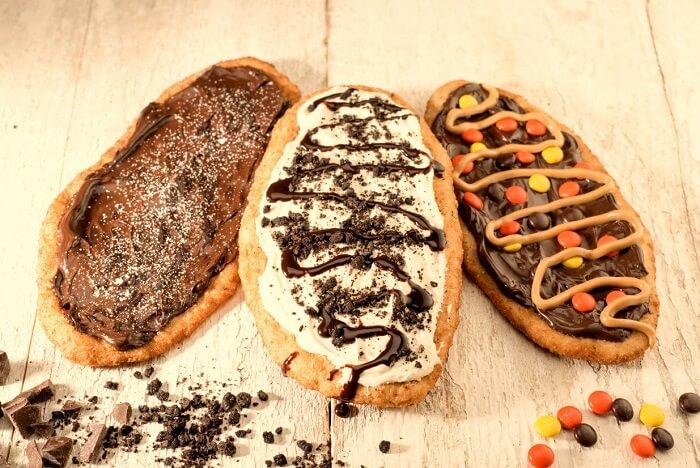 flattened donuts
