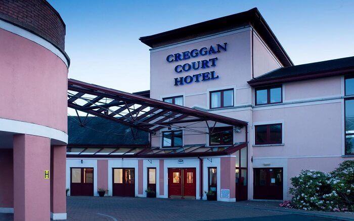 Creggan Court Hotel from outside