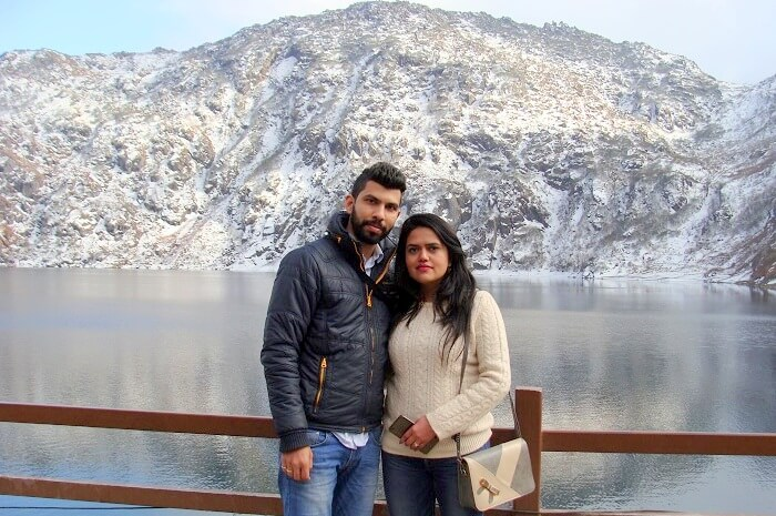 At Nathu La Pass