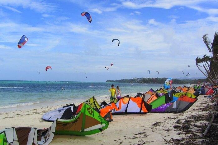 Enjoy Kite Surfing on Bulabog Beach in Philippines