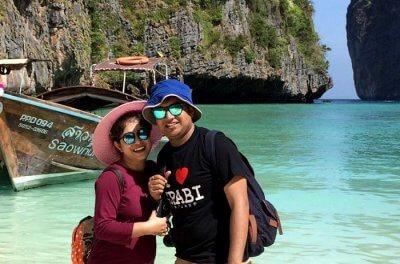 couple in krabi