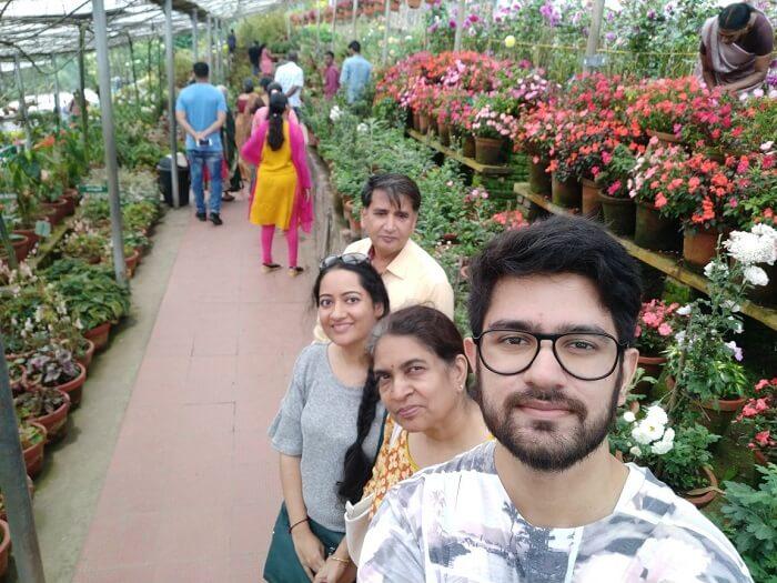 Garden in Kerala