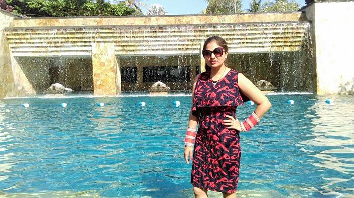 Umae Villa pool