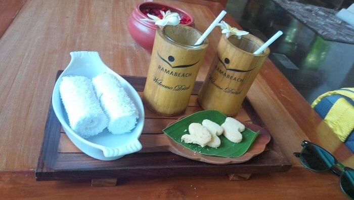 Food in Bali Resort