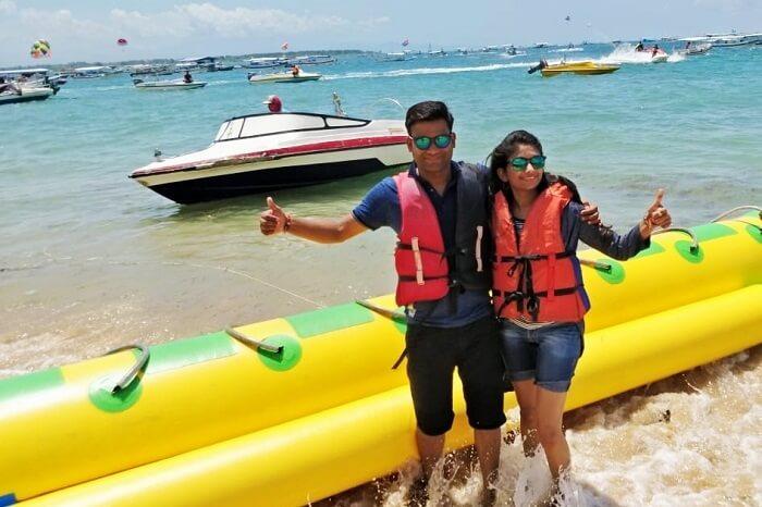 Adventure activity in Bali