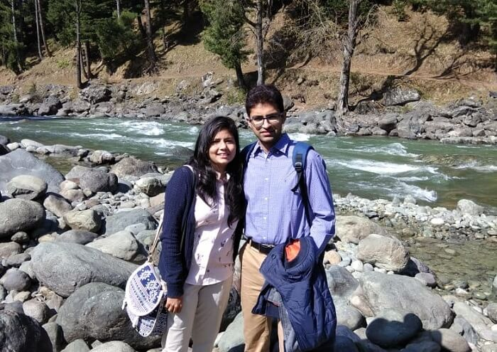 couple in pahalgam