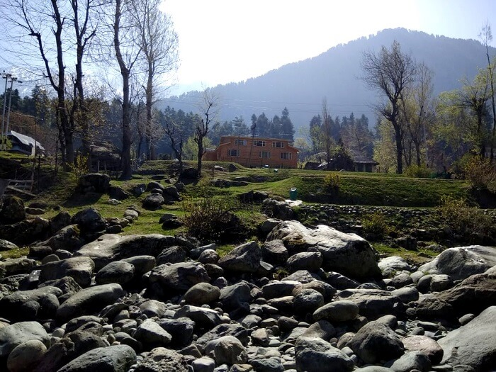beautiful view of kashmir