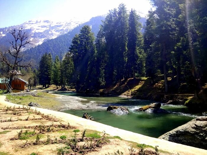 view of pahalgam in morning