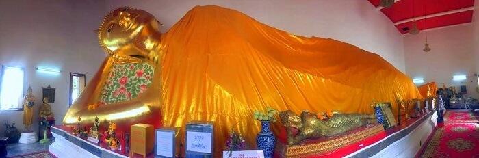 pooja thailand trip buddha temple