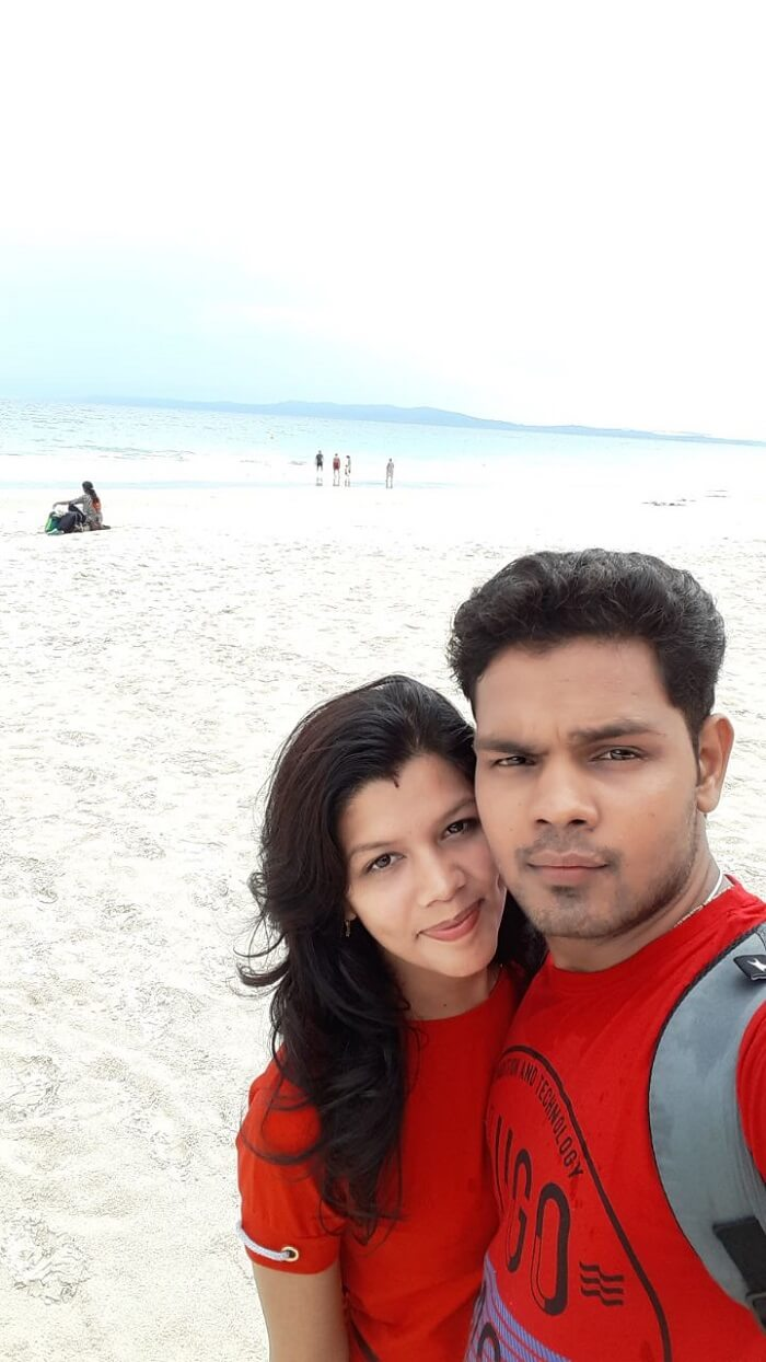 At elephant beach