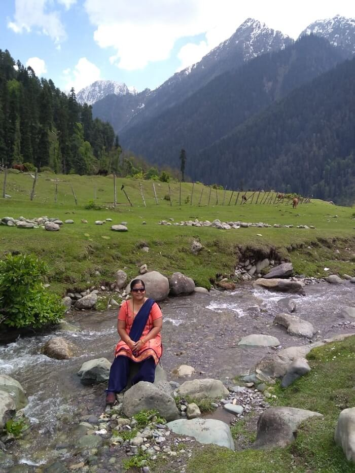 river in kashmir