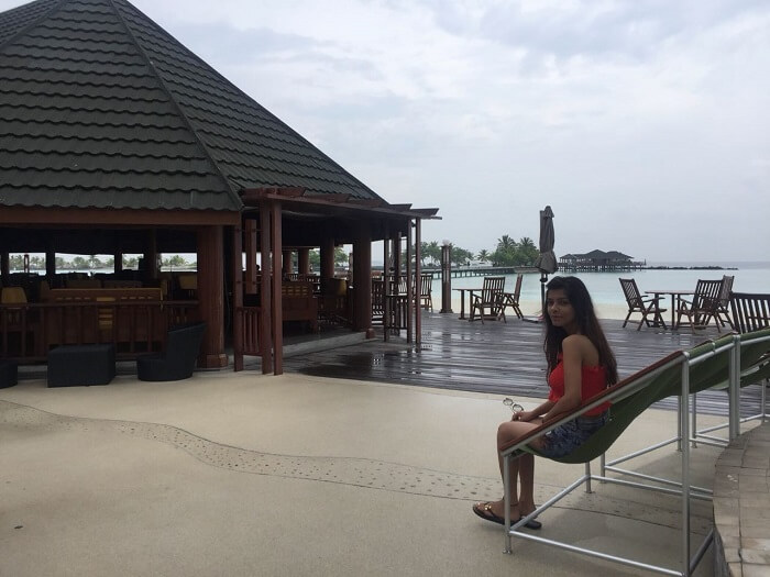 at the water villa