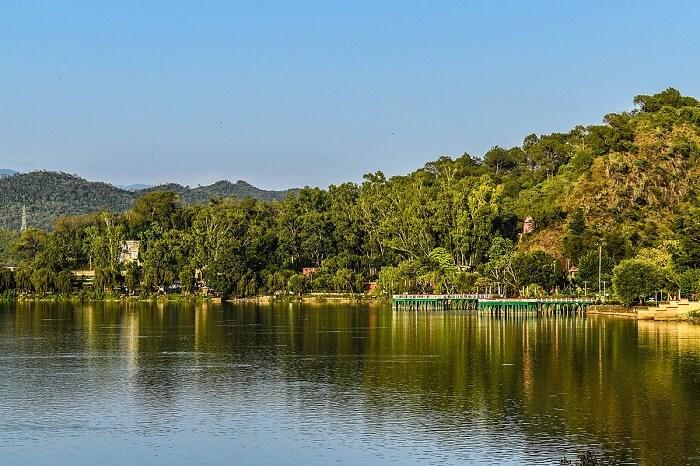 Mansar Lake jammu