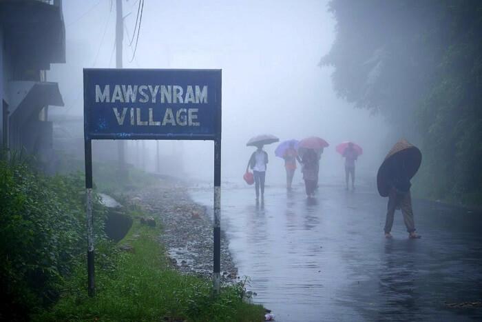 Mawsynram Village