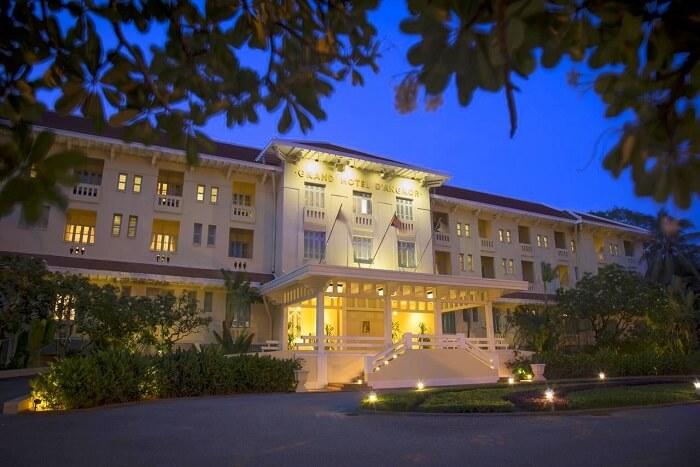 Raffles Grand Hotel d'Angkor siem reap