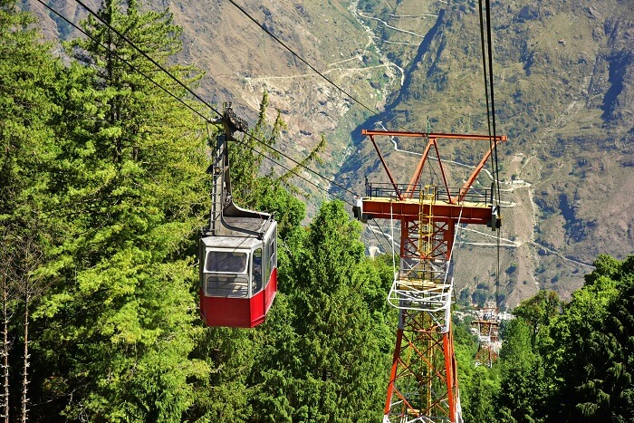 Ride the Aerial Ropeway to Snow View Point