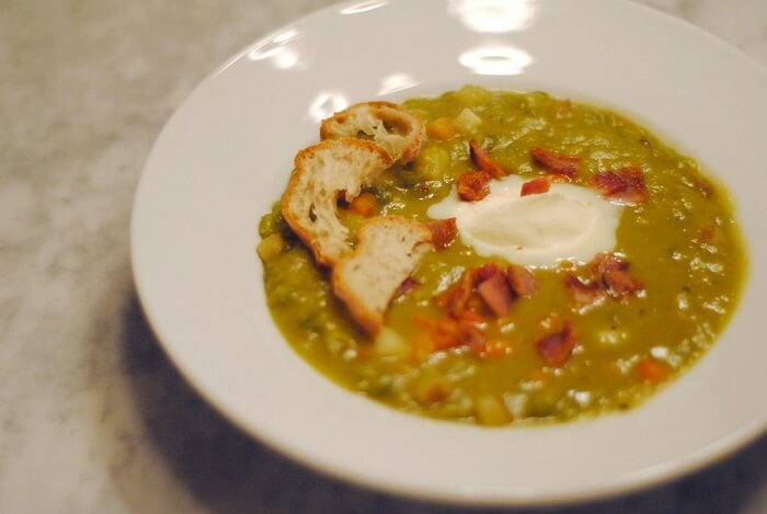 Split Pea is a classic French Canadian dish