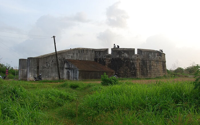 Sultan Battery amid green fields