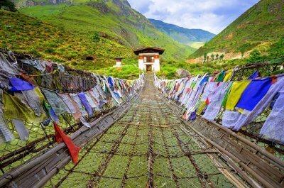 Tamchoe Monastery Paro Bhutan