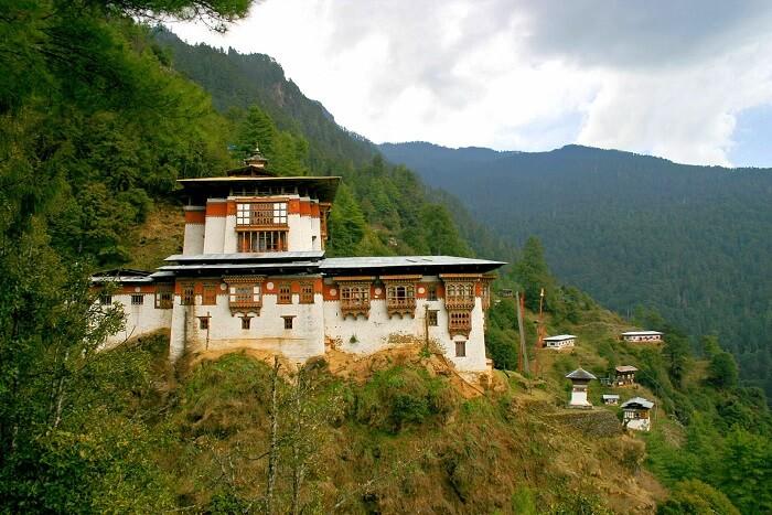 Jangtsa Dumtseg Lhakhang Temple paro