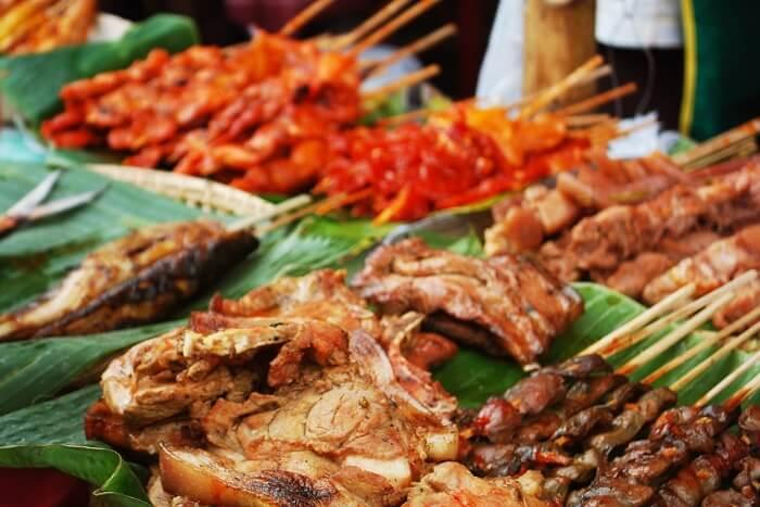 Taste local cuisine in Philippines