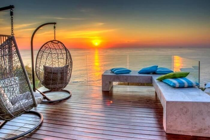 sunset at Aegea