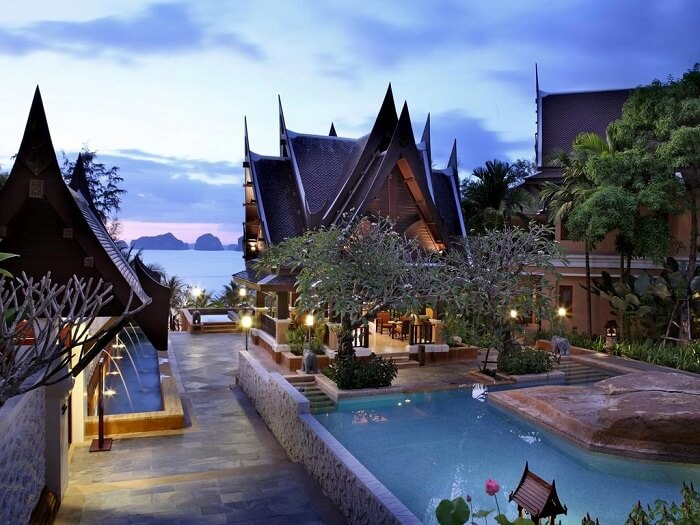 view of amari resort in krabi