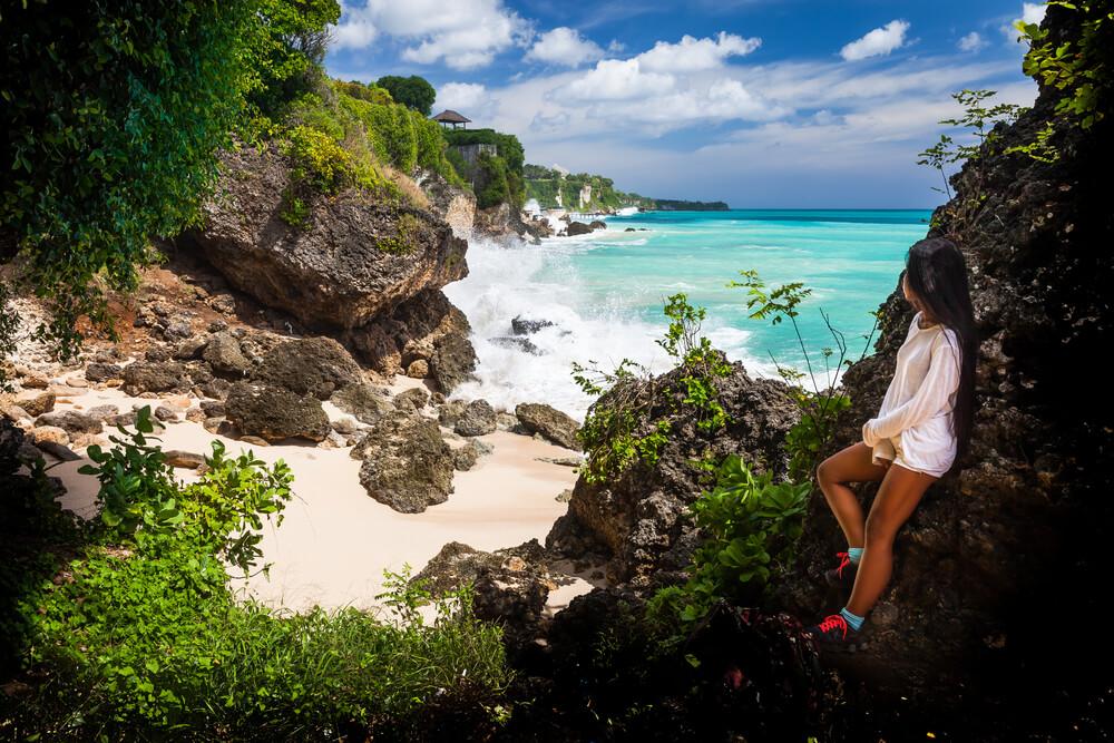 woman in Bali