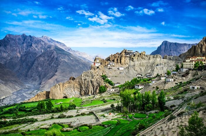 view of spiti in summer