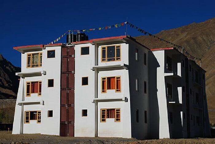 hotel in spiti valley
