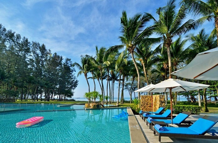 pool view of dusit thani krabi