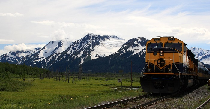 rail network alaska